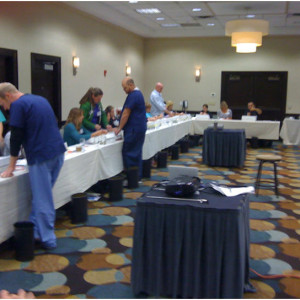 Because we've purchased our own buildings and suture machines, we spoil our RNFA attendees by utilizing over 20 thousand sutures during a 3 and 6 day class!