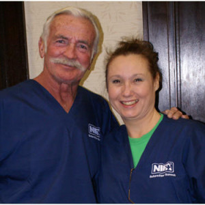 Dr. John and Instructor Terri Shade RNFA instructor are extremely proud of a great class! Each student is individually evaluated on their week's progress.